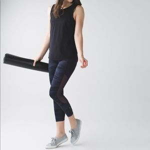 Lululemon Seek The Heat Crop